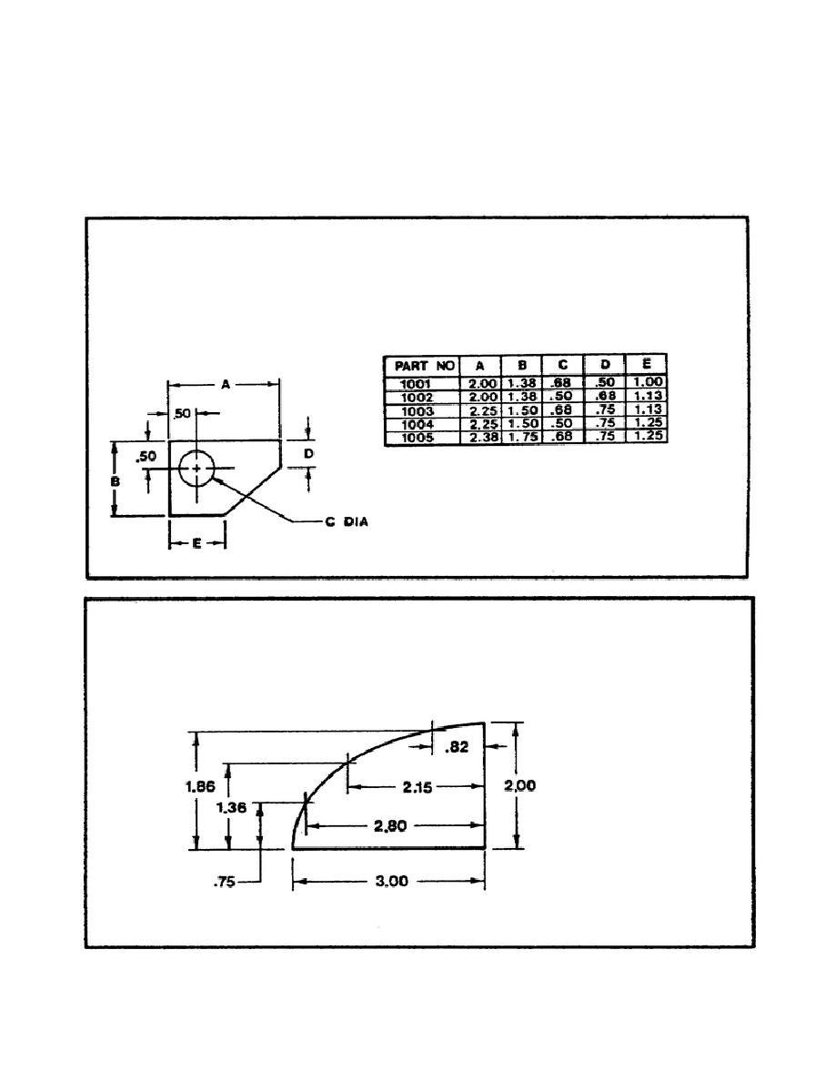 figure tabular dimensions tabular dimensions