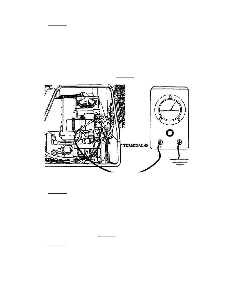 figure 46  apu wiring harness lead 65 to starter relay