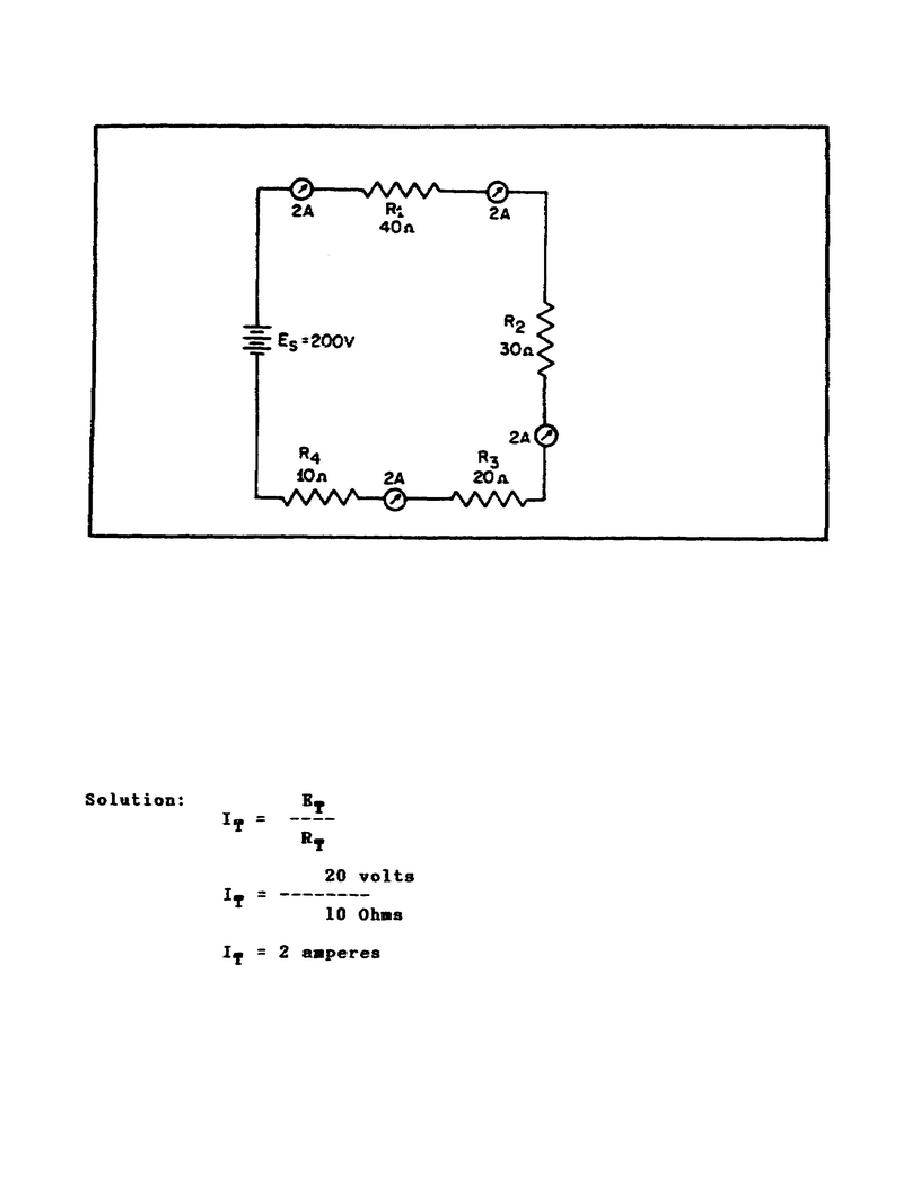 figure 22  current in a series circuit