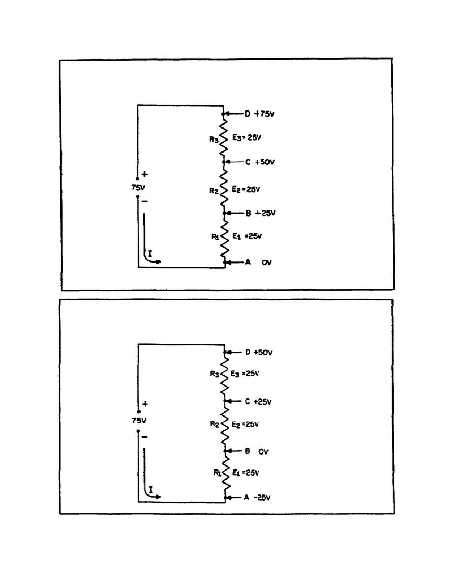 figure 33  reference points in a series circuit