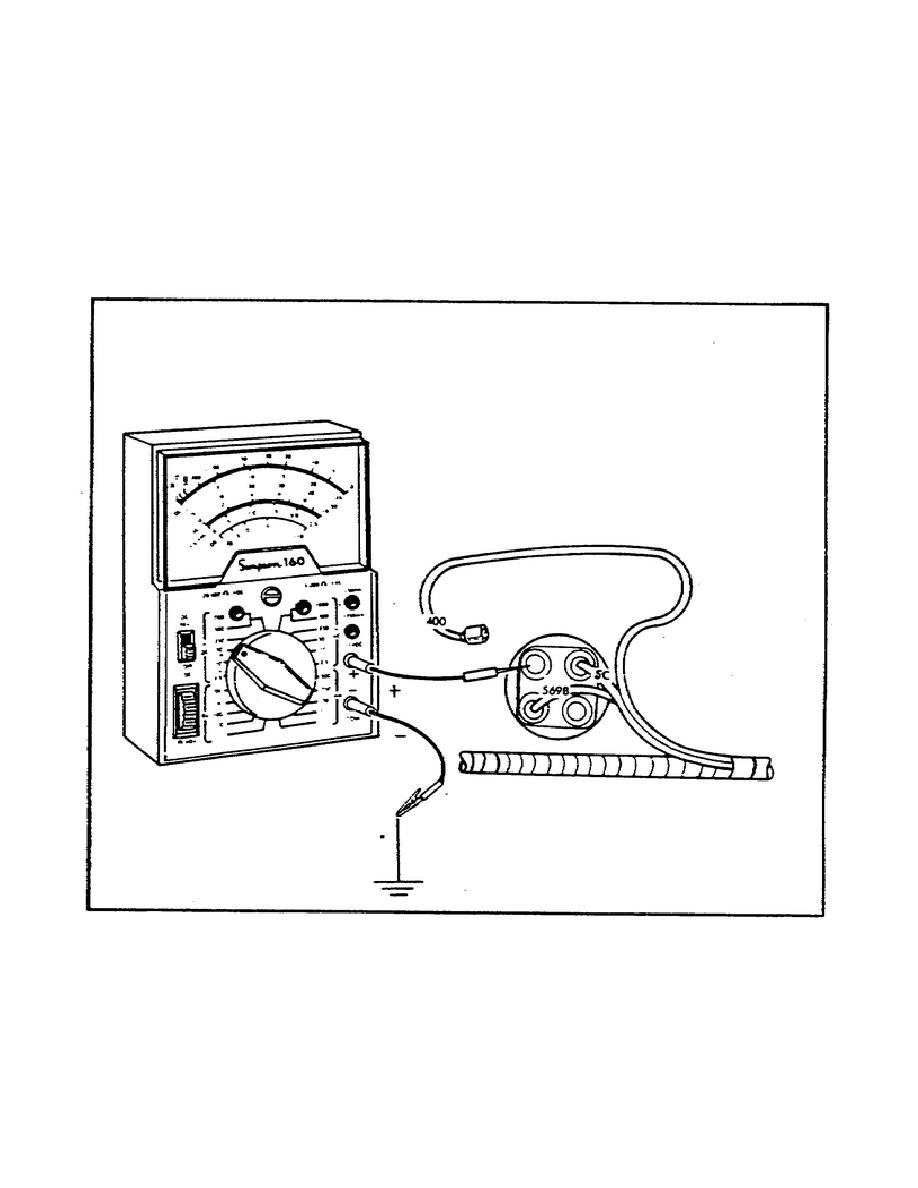 figure 29  testing the heater circuit